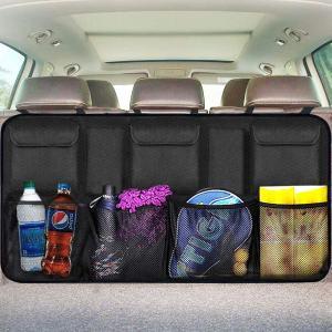 EldHus Rear Car Organizer Storage Trunk Back Seat Organizer