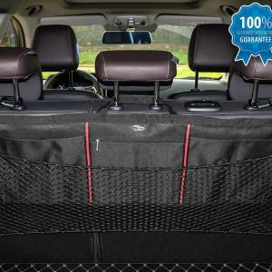 Elastic Cargo Nets Bag, Seat Back Mesh Storage
