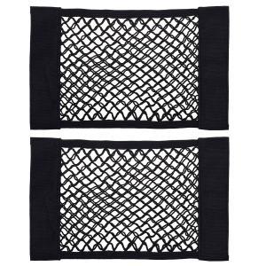 Organizer Mesh Pouch Bag Velcro Cargo Netting Wall Sticker