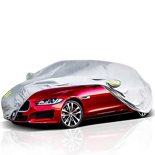 ELUTO Car Cover Outdoor Sedan Cover Waterproof