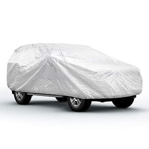 SJC Fit Up to Car/SUV Full Car Cover Universal