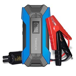TIWKICH Plus Updated Version Portable Automotive Jump Starter