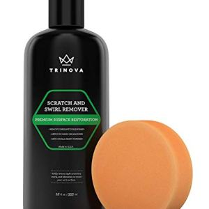 TriNova Scratch Swirl remover - best abrasive compound car