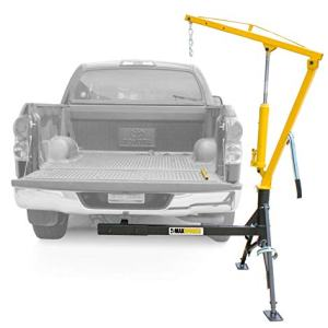 MaxxHaul Receiver Hitch Mounted Crane