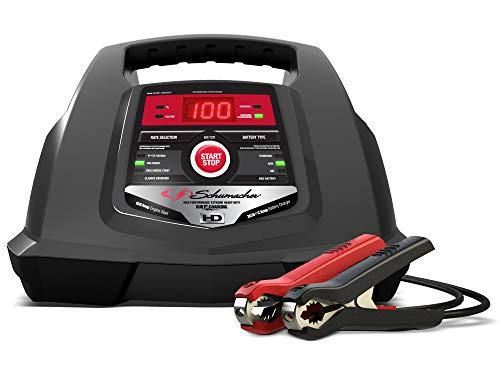Fully Automatic Smart Battery Charger 100A Engine Starter and 30A Boost Maintainer