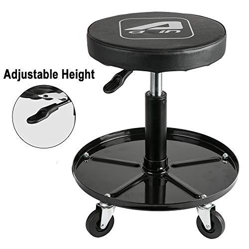 Aain LT012C Adjustable Garage Roller Seat