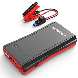 Portable Car Lithium Jump Starter up to 7.2L Gas or 5.5L Diesel