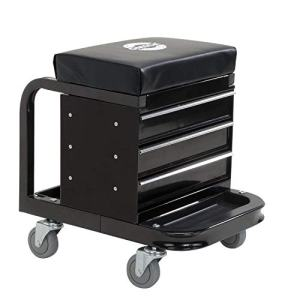 Omega Black Tool Box Creeper