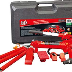 BIG RED Torin Portable Hydraulic Ram: Auto Body Frame Repair Kit