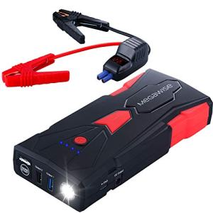 16800mAh Car Jump Starter 7L Gas or 5L Diesel Engine
