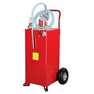 TRIL GEAR 30 Gallon Gas Caddy Oil Transfer Hand Pump