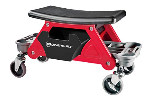 Powerbuilt Heavy Duty Roller Mechanics Seat and Brake Stool