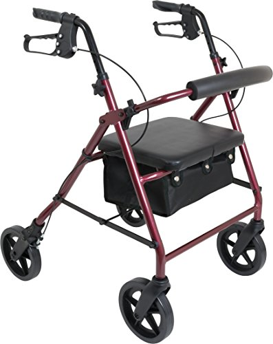 ProBasics 4 Wheel Medical Rolling Walker