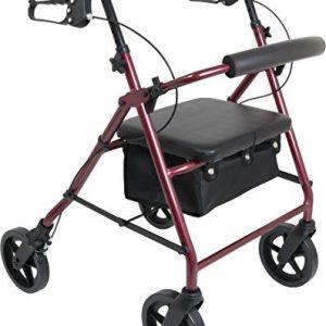 ProBasics 4 Wheel Medical Rolling Walker