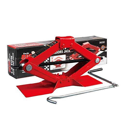 BIG RED Torin Steel Scissor Lift Jack Car Kit