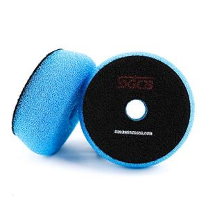Medium Light Cutting Flat Car Foam Buffing Pad Breathable Hook