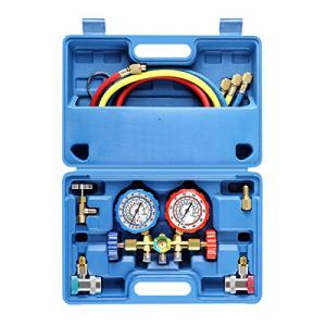 3 Way AC Diagnostic Manifold Gauge Set