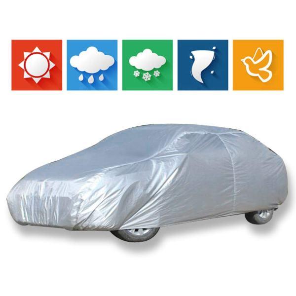 cciyu Car Cover 100% Waterproof Outdoor Auto Cover