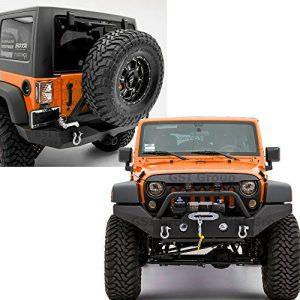 GSI Rock Crawler Full Width Front Bumper+ OE Fog Lights