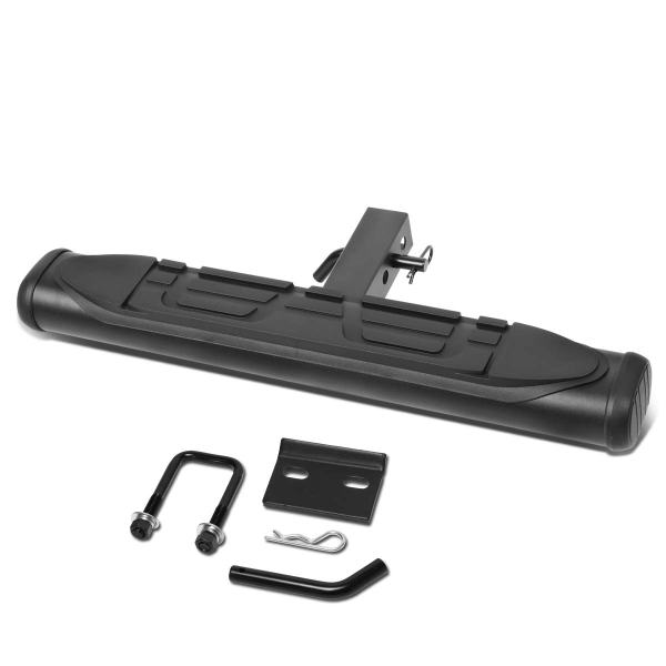 Towing Hitch Step Bar Rear Bumper Guard