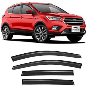 Voron Glass Tape-on Rain Guards for Ford Escape 2013-2019