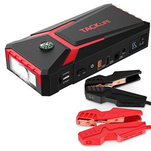 800A Peak 18000mAh Car Jump Starter with LCD Display