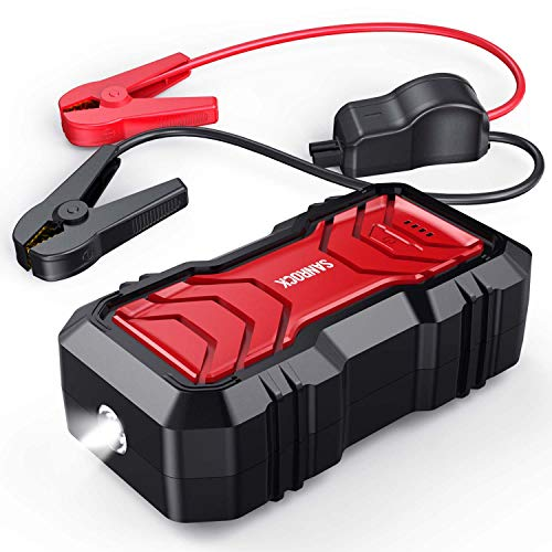SANROCK 2500A Peak Portable Car Battery Jump Starter