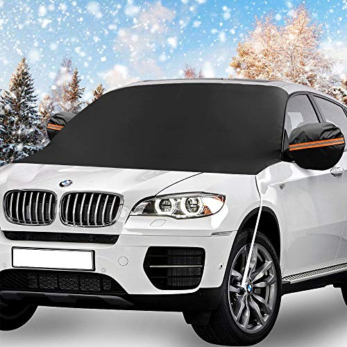 Windshield Snow Cover, KKTICK Car Windshield Covers