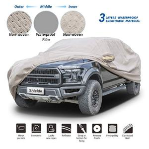 Shieldo Thick Shell Car Cover Waterproof Windproof Snowproof