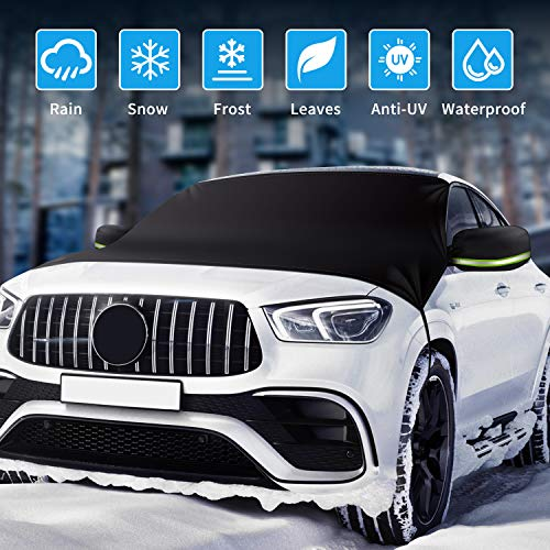 Rouffiel Windshield Snow Cover [2020 Upgrade]