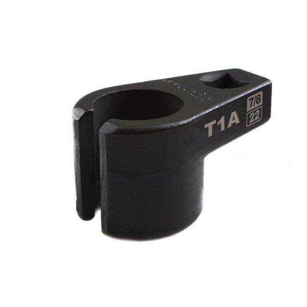 """7/8"""" 22mm Low Profile Oxygen Sensor Offset Socket"""