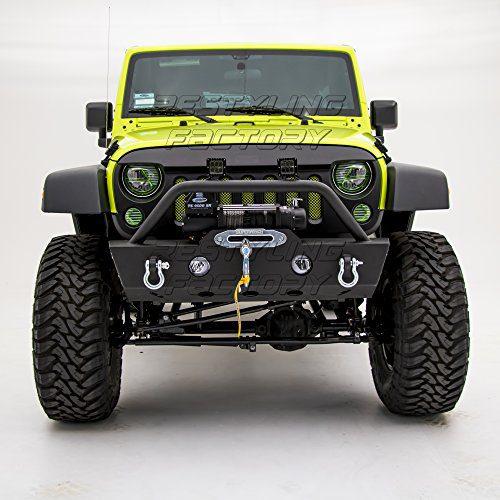 Jeep Wrangler JK OE Fog Light Hole and Winch Mount Plate