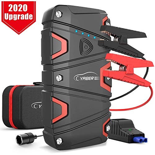 YABER Car Jump Starter with USB QC3.0