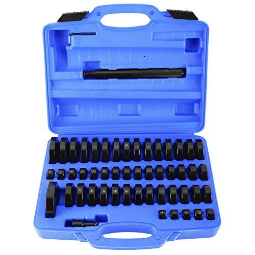 KUNTEC 52 Piece Custom Bushing Removal Tool