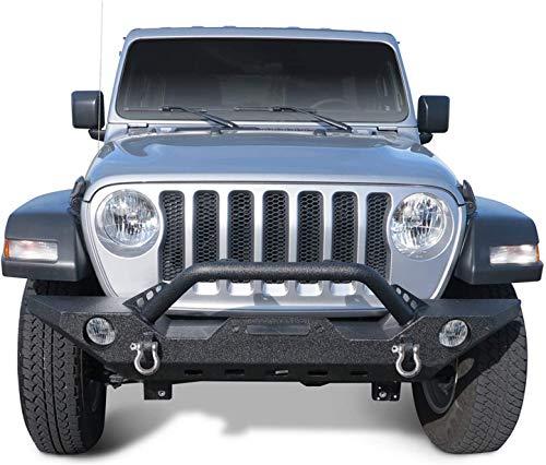 TAC Front Bumper Fit 2018-2021 Jeep Wrangler JL