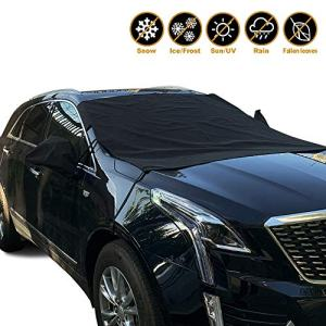 Winter Protection Cover with Rearview Mirror Covers