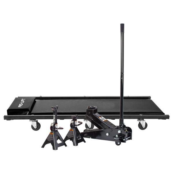 Pro-LifT 3 Ton Heavy Duty Floor Jack/Jack Stands