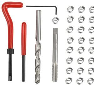 M9 X 1.25 Thread Repair Insert Set Compatible for Auto Repairing
