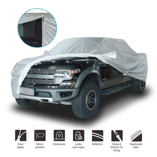 Shieldo Deluxe Truck Cover with Door Zipper