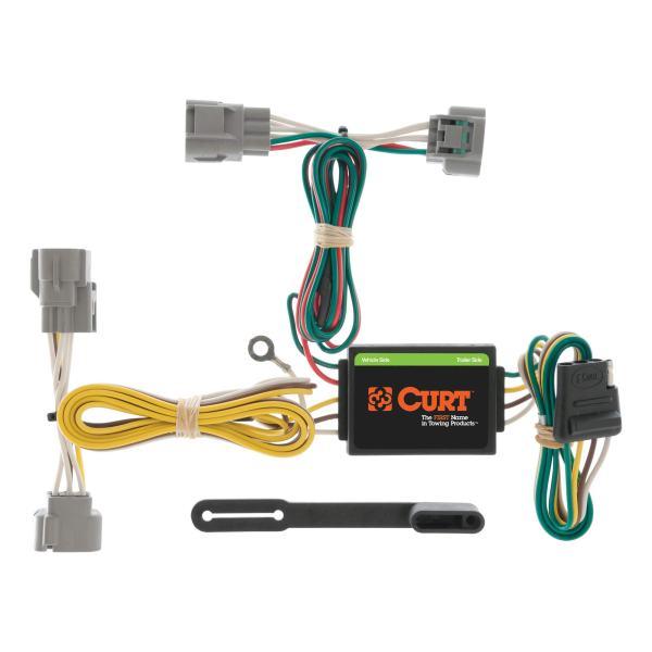 CURT Vehicle-Side Custom 4-Pin Trailer Wiring Harness