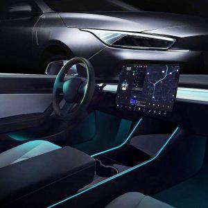 Tesla Model 3 Model Y LED Strip Neon Light Tubes