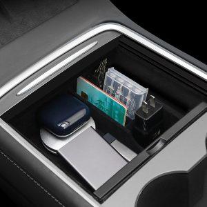 Tesla Model 3 Y 2021 Center Console Organizer Armrest