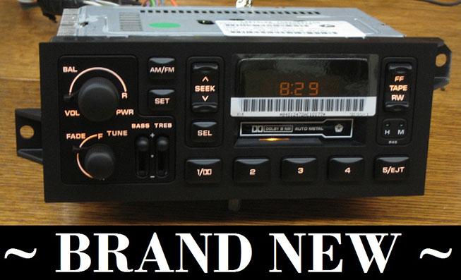 1997 Dodge Radio Wiring Diagram Oem Radios Vehicle Radio Amp Electronic Original