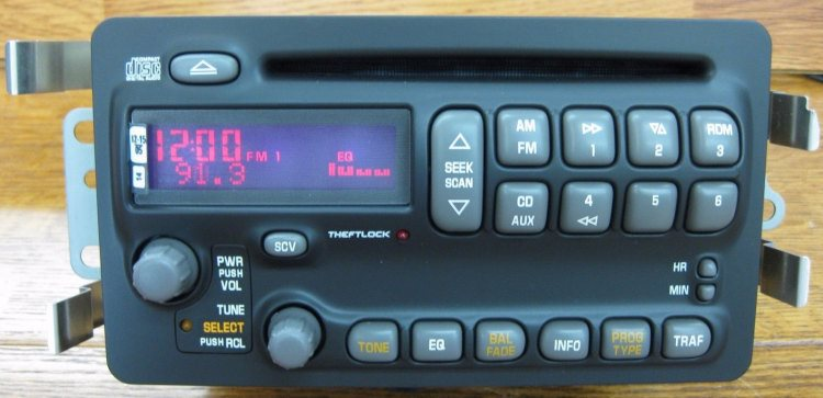 Delco Radio Wiring Diagram 1992 Pick Up | brandforesight co
