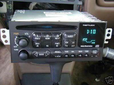 1996 Gmc Jimmy Radio Wiring Diagram Oem Radios Vehicle Radio Amp Electronic Original