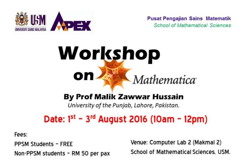 USM workshop