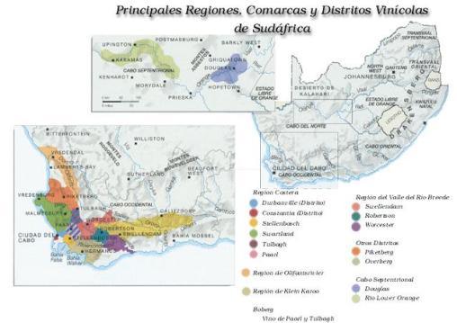 Regiones de sudafrica