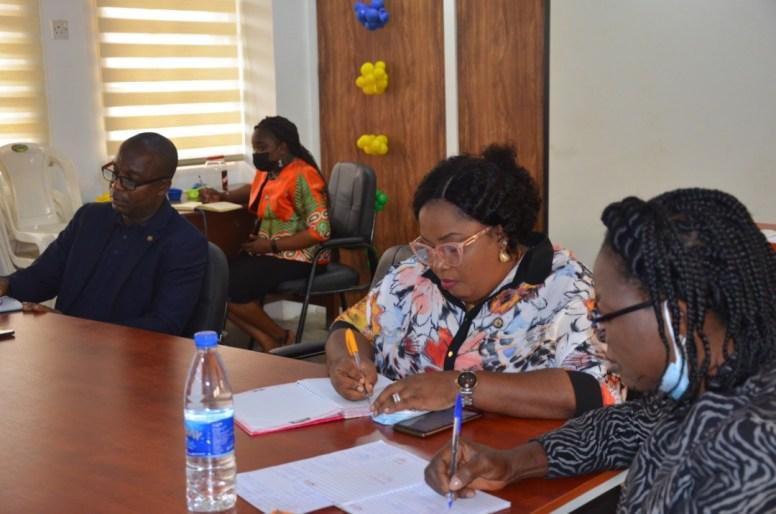 LEAP AFRICA, ON A COURTESY VISIT TO DG OEQA MRS ABIOLA SERIKI-AYENI (4)