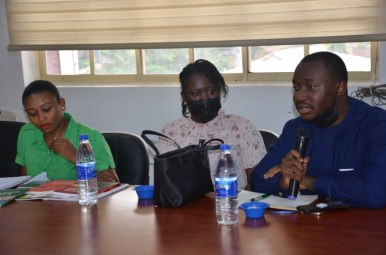 LEAP AFRICA, ON A COURTESY VISIT TO DG OEQA MRS ABIOLA SERIKI-AYENI (7)