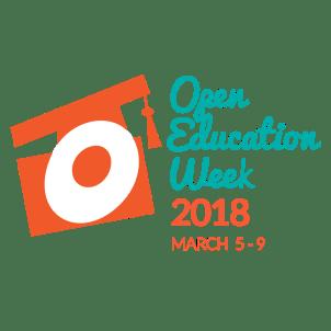 Open Education Week logo